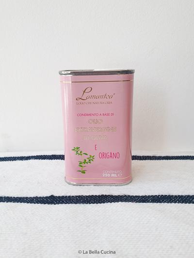 Extra vergine olijfolie met Oregano - Lamantea