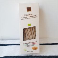 Fettuccine van quinoa en amarant - Leonardo Carassai